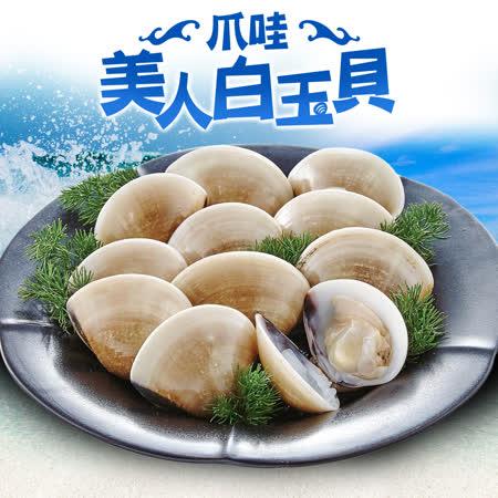 愛上美味 印尼熟凍白玉貝8包