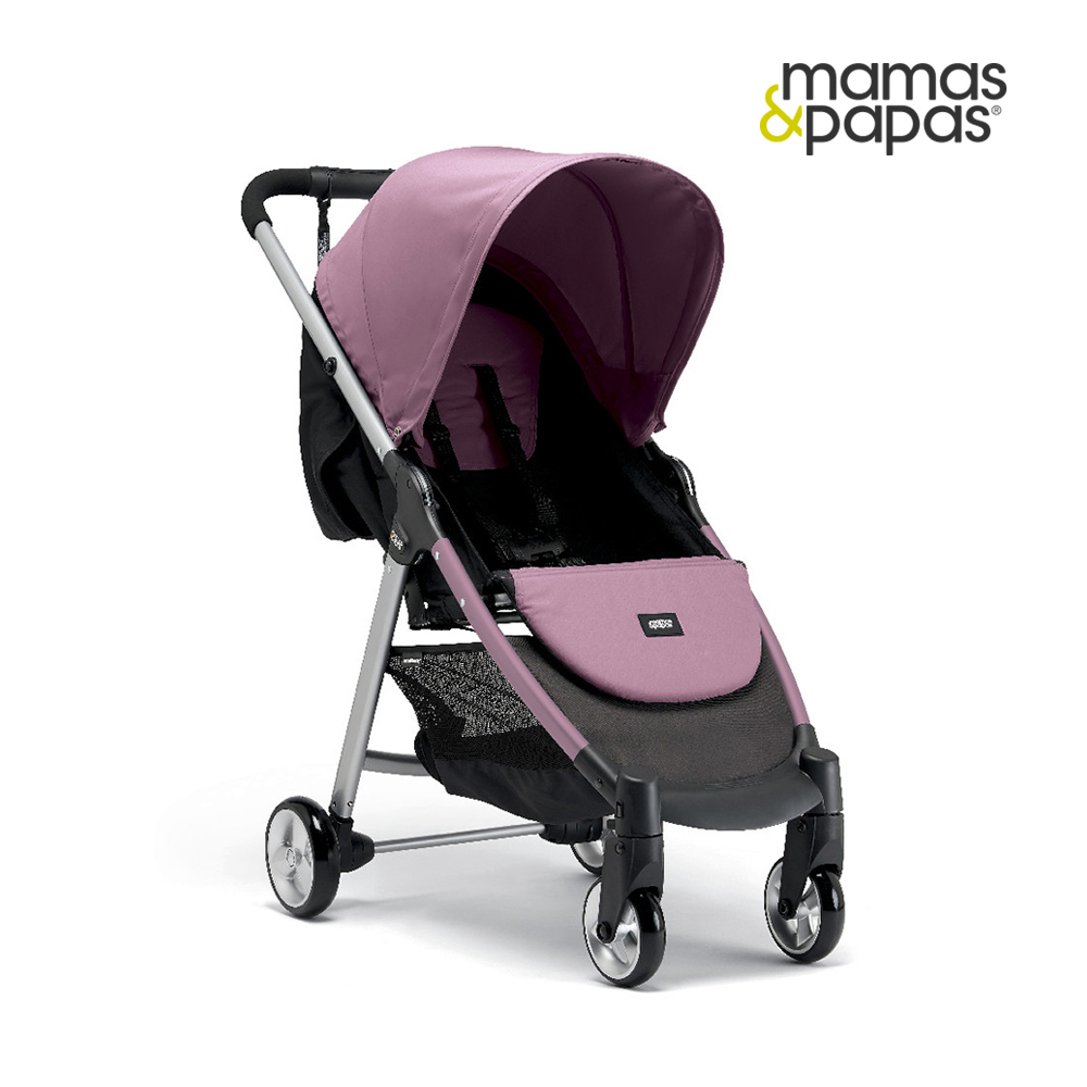 【Mamas & Papas】城市穿山甲手推車2-玫瑰粉