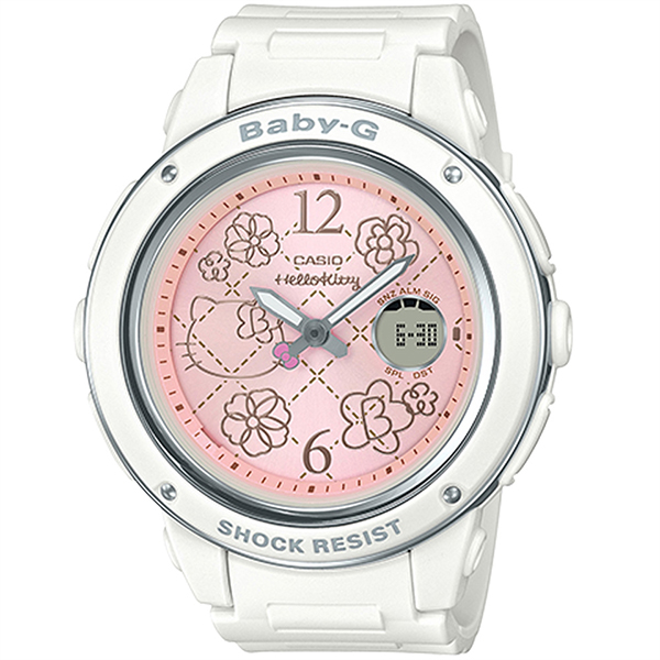 CASIO Baby-G X Hello Kitty凱蒂貓 限量聯名款 BGA-150KT-7B