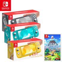 Nintendo Switch Lite 主機 + 薩爾達傳說 織夢島《中文版》