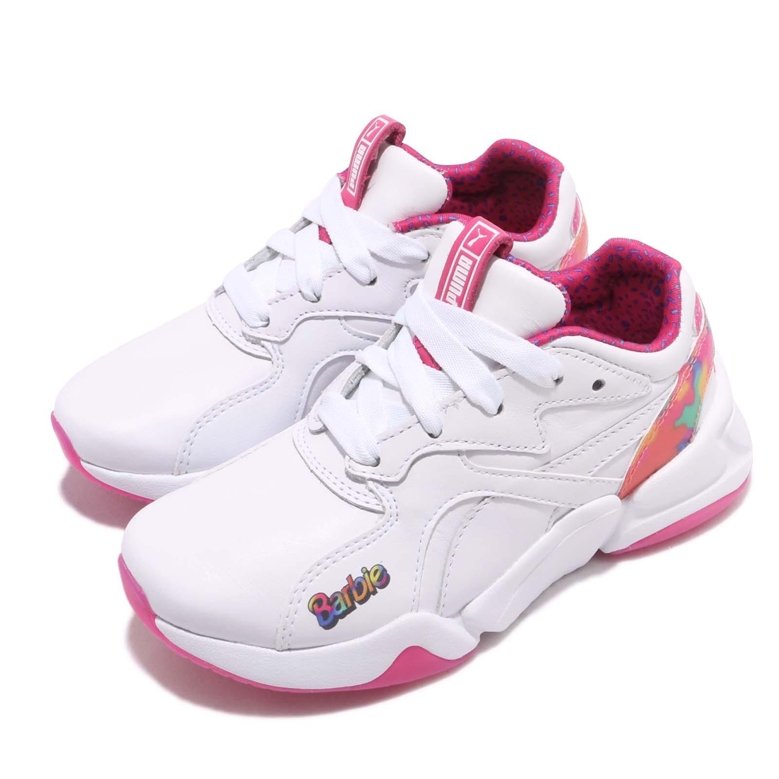 Puma 休閒鞋 Nova x Barbie FL 童鞋 37158501