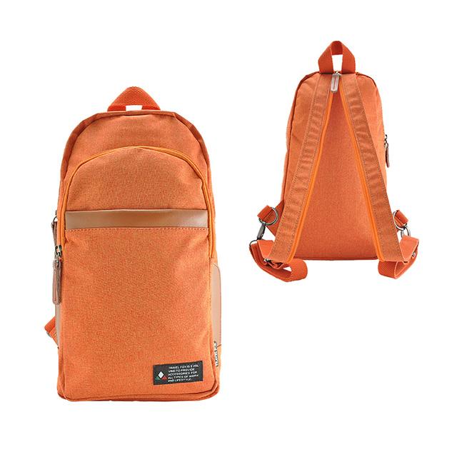 TRAVEL FOX 旅狐 - 單肩/雙肩兩用輕巧後背包 TB689-16 橘色