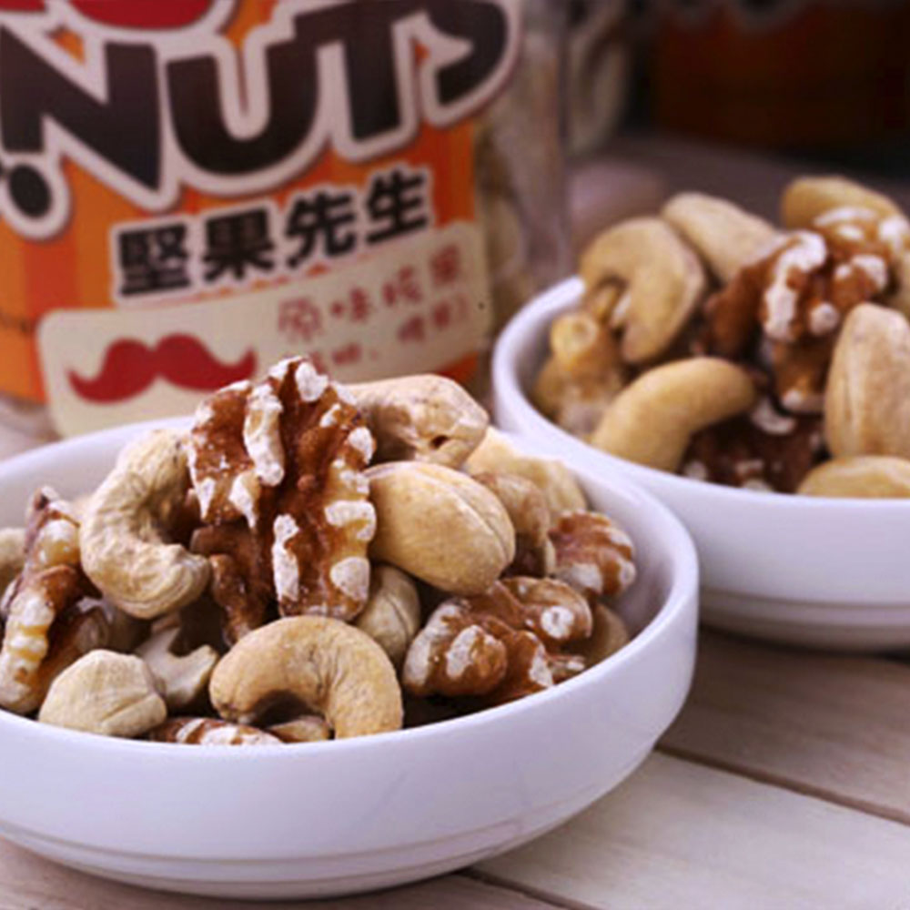 MR.NUTS 堅果先生_原味核果1罐(全素)