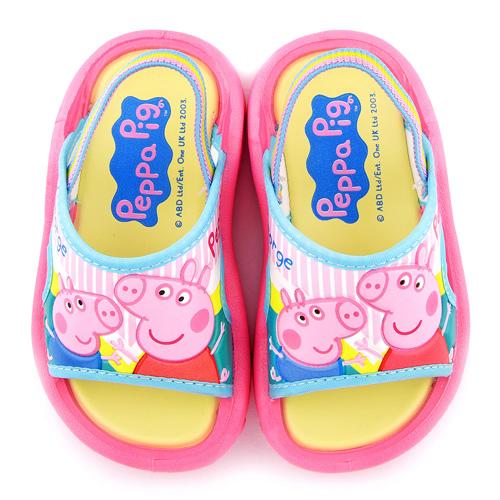 童鞋城堡-粉紅豬小妹 中小童 戶外拖鞋PG0074-粉
