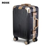 【ROXIE】日安晨光 26吋鋁框行李箱(黑配金)