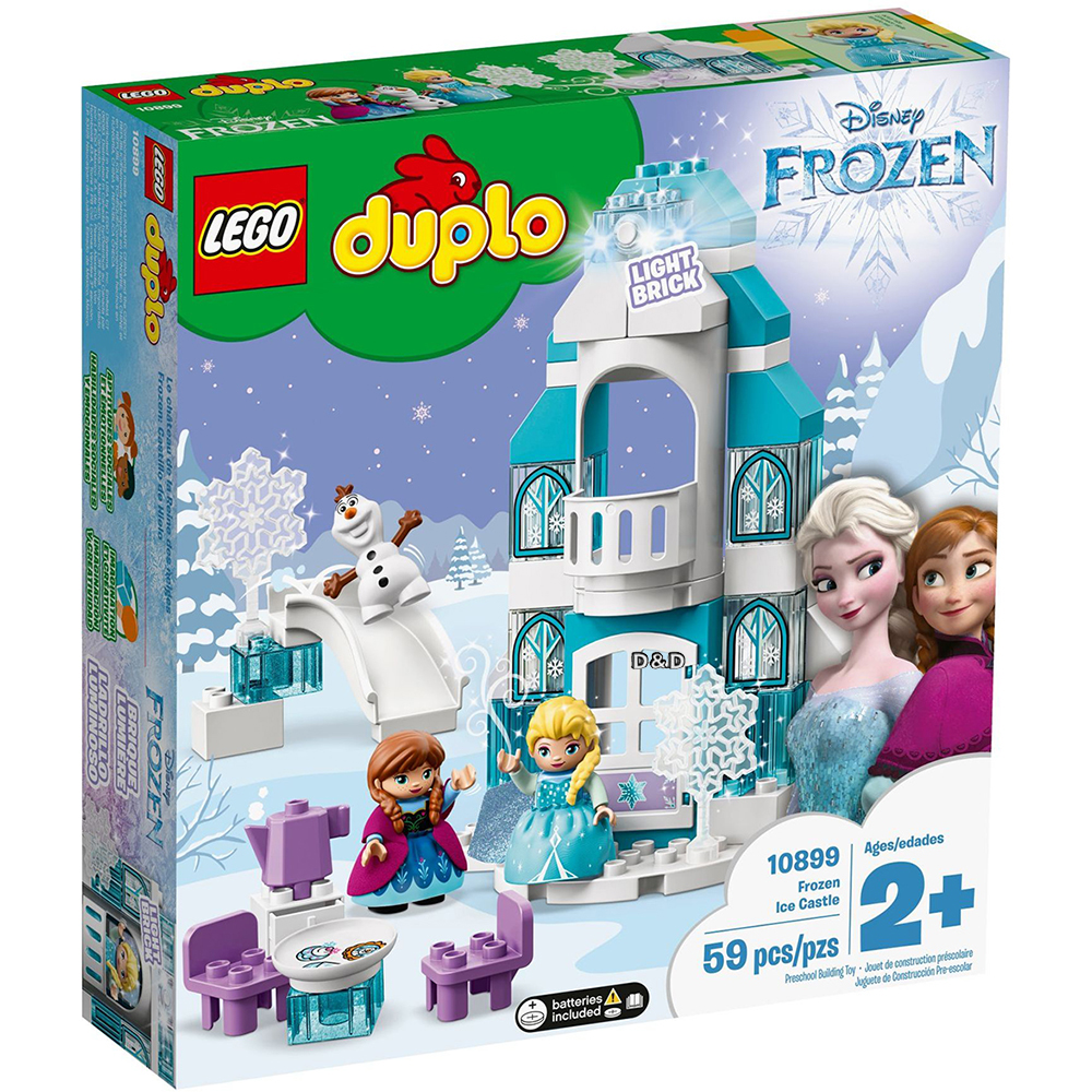 樂高積木 LEGO《 LT10899 》Duplo 得寶系列 - 艾莎的冰雪城堡 Frozen Ice Castle