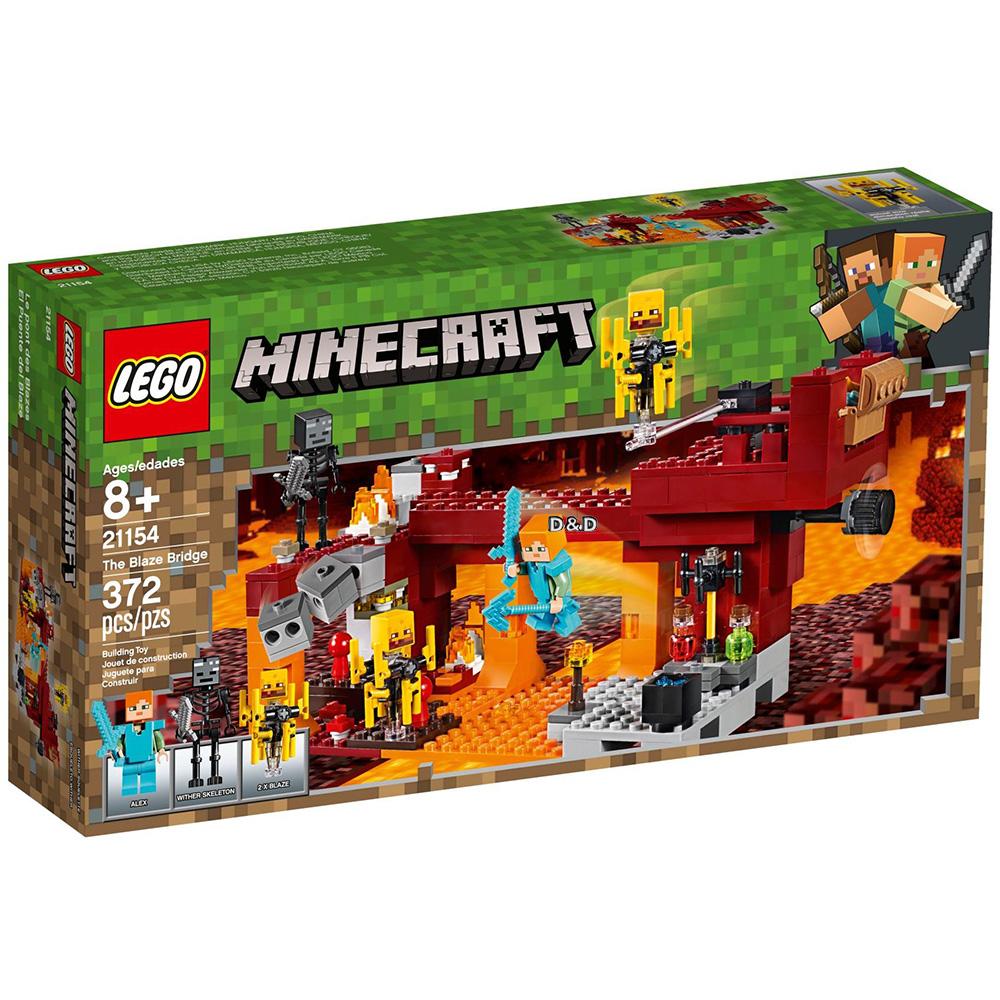 樂高積木 LEGO《 LT21154 》Minecraft 系列 - The Blaze Bridge