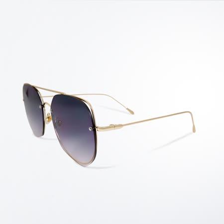 經典飛官鏤空拼接 設計漸層太陽眼鏡