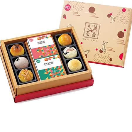 85度C 小城茶香禮盒2盒