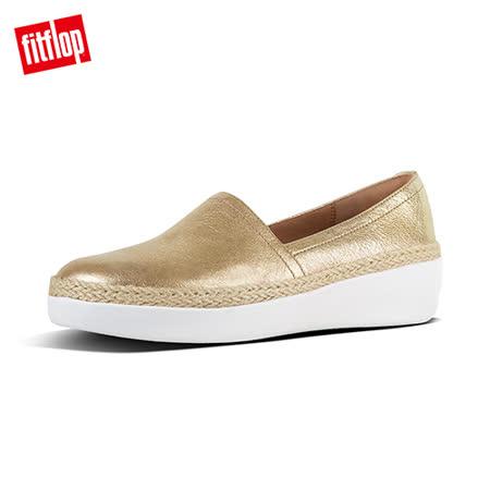FitFlop 草編裝飾樂福鞋