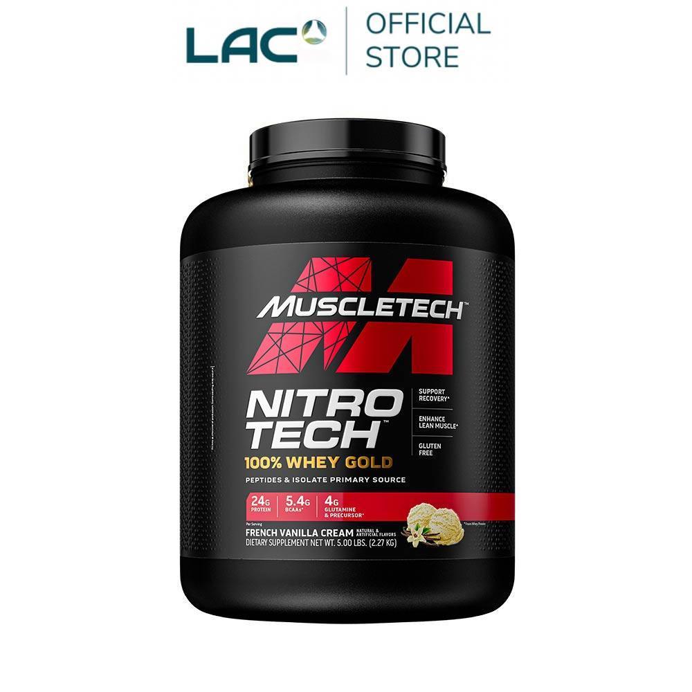 【GNC 健安喜】Muscletech耐如鐵-香草口味飲品2磅(乳清蛋白/消化酵素/BCAA/肌酸)