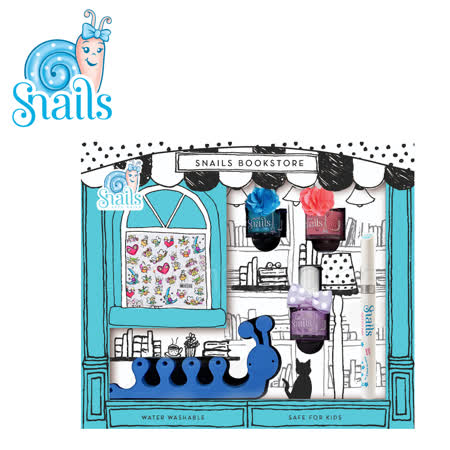 Snails 小小蝸牛 兒童水性指甲油禮盒