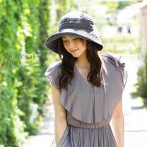 日本QUEENHEAD<br/>抗UV寬緣防曬帽