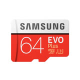 Samsung 三星 EVO Plus 64GB MicroSDXC CL10/UHS-I 記憶卡(100MB/s)