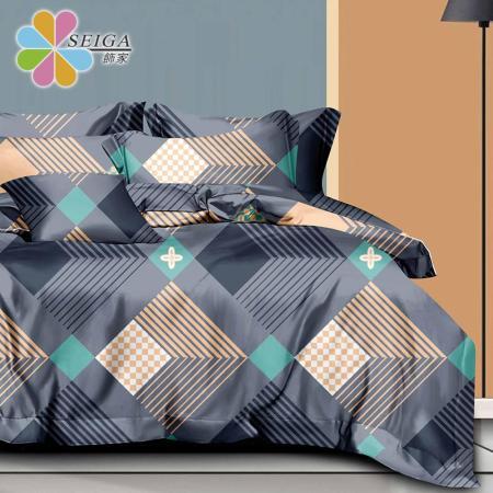 3M吸濕排汗 高級四件式鋪棉床罩組
