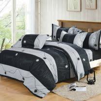 飾家(台灣製) 四件式鋪棉床罩組