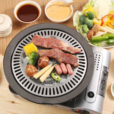 HIKARI日光生活韓國原裝進口岩燒烤盤
