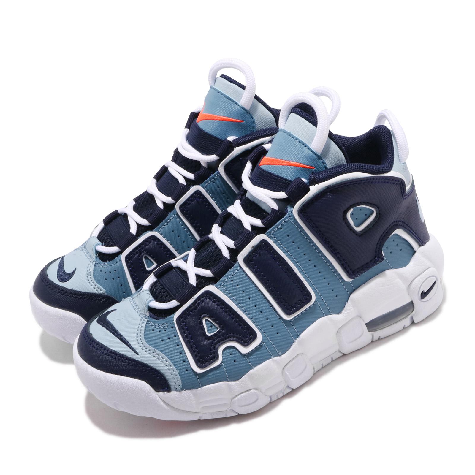 Nike 籃球鞋 Air More Uptempo 童鞋 AA1554-404