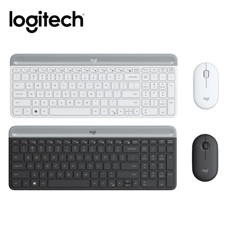 Logitech 羅技 MK470 超薄無線鍵鼠組