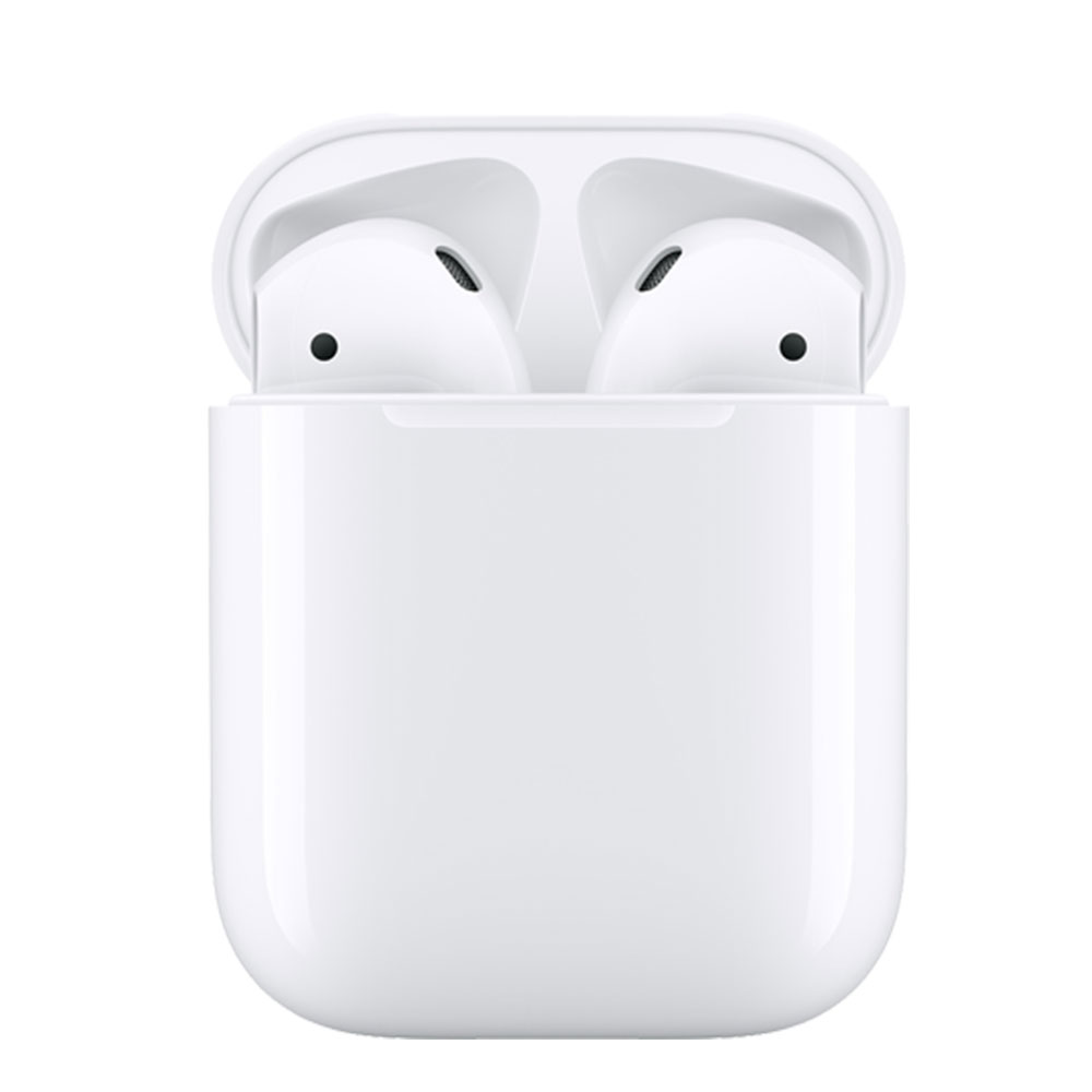 Apple AirPods 無線藍牙耳機 2019新款(MV7N2TA/A) - 搭配有線充電盒
