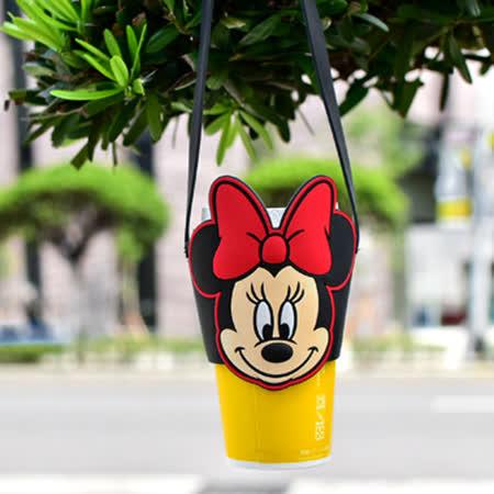 Disney迪士尼 矽膠飲料環保杯套2入