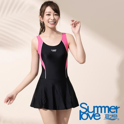 【SUMMERLOVE 夏之戀】 大女連身帶裙-E18796