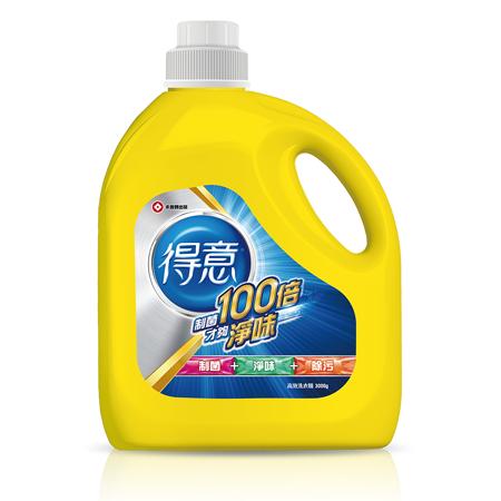 【得意】衣物清潔類洗衣精2+8件組(3000gx2瓶+補充包2000gx8包)