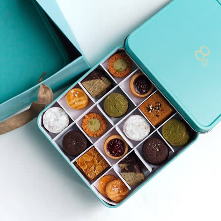 【8%ice】法式餅乾禮盒(顏色隨機)
