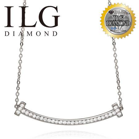 美國ILG鑽飾 八心八箭項鍊