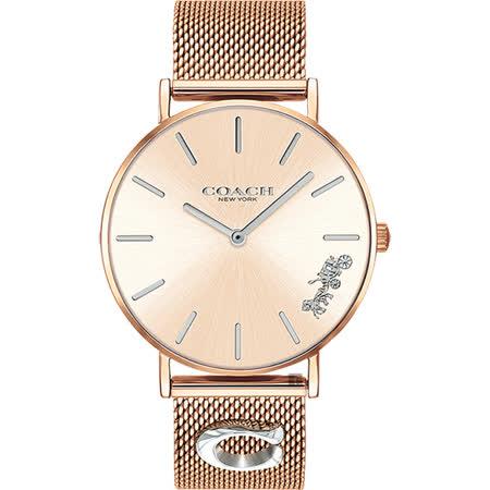 Coach 品牌時尚精品米蘭帶手錶