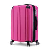 【ROXIE】簡約時尚 29吋可加大超輕量行李箱(甜蜜桃)