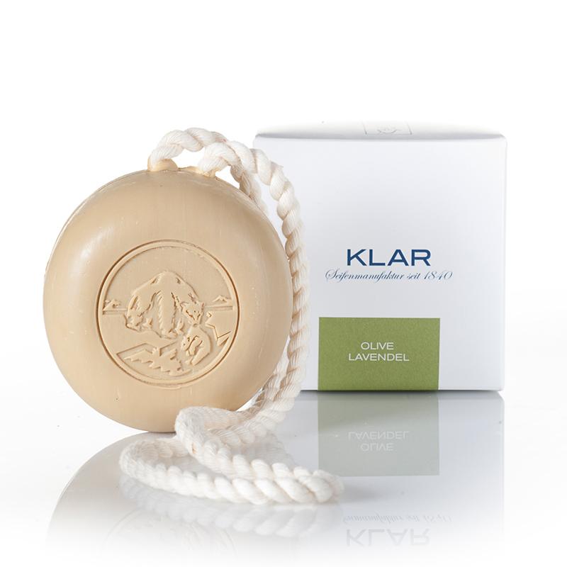德國KLAR 洗髮洗澡橄欖油薰衣草雙效皂 (K350152)
