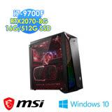 msi微星 Infinite A 9SD-851TW 電競桌機(i7-9700F/16G/512G SSD/RTX2070-8G/WIN10)