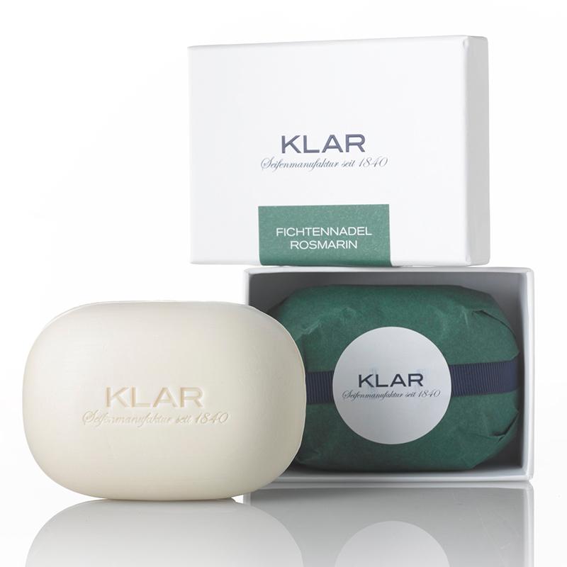 德國KLAR 滋潤高乳脂皂雲杉針與迷迭香 (K351074)