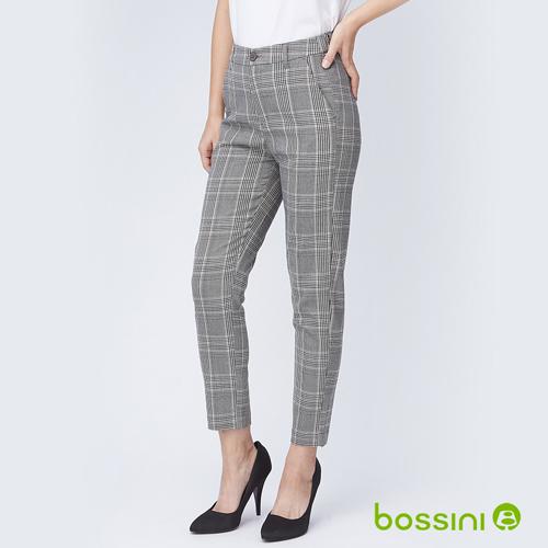 bossini女裝-彈性長褲01淺灰