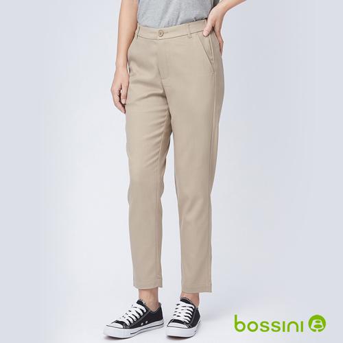 bossini女裝-彈性長褲04卡其