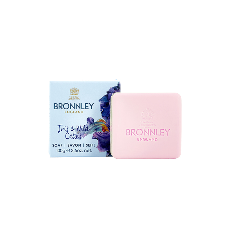 英國Bronnley鳶尾黑醋栗單皂 (B283400)