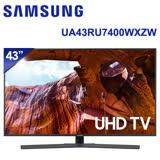 SAMSUNG三星 43吋 4K 智慧連網液晶電視(UA43RU7400WXZW)