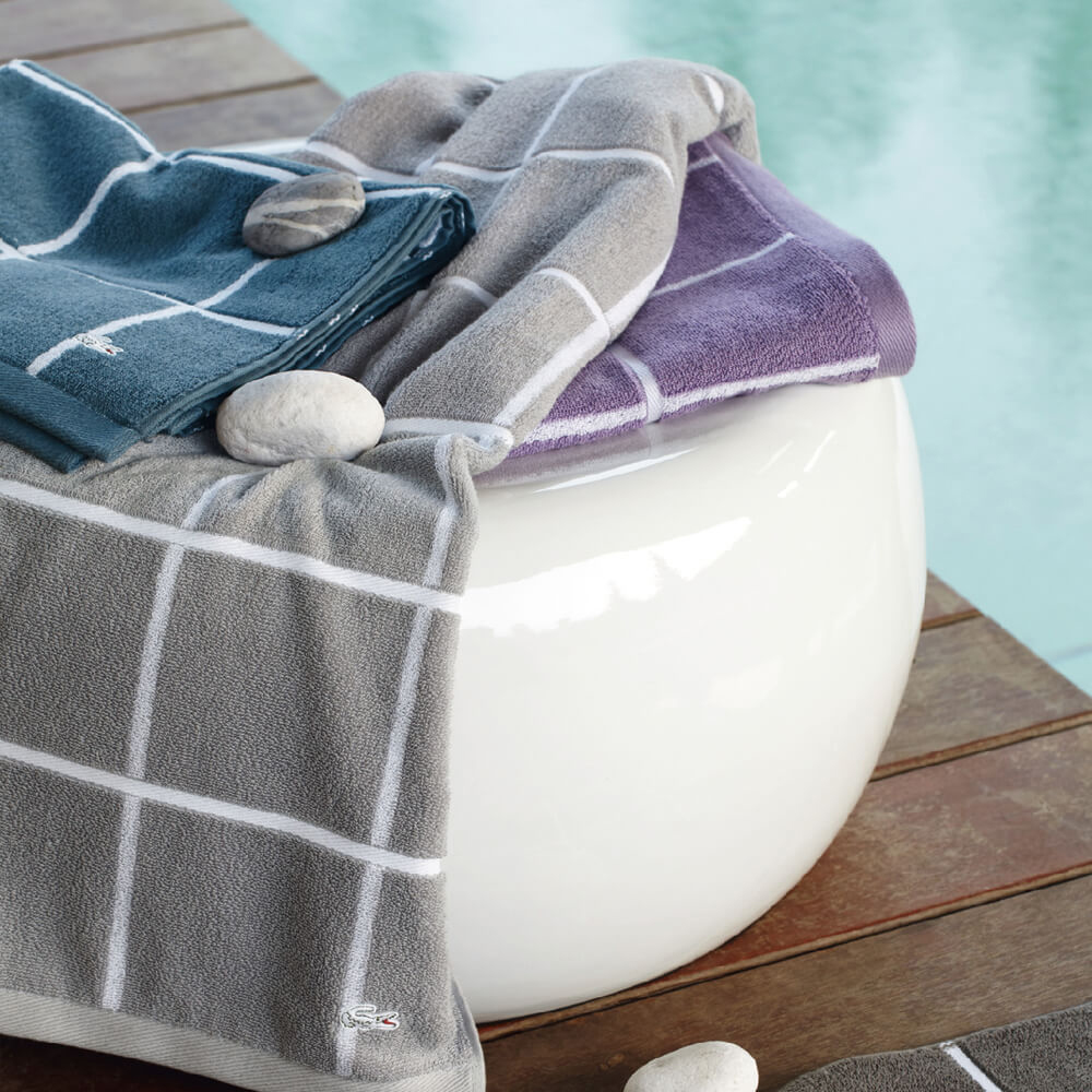 【LACOSTE】GALION毛巾