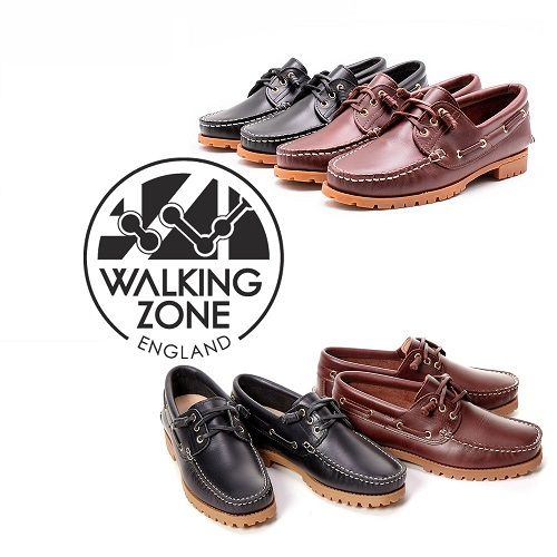 WALKING ZONE 經典款 帆船雷根鞋 男女款(2色任選)