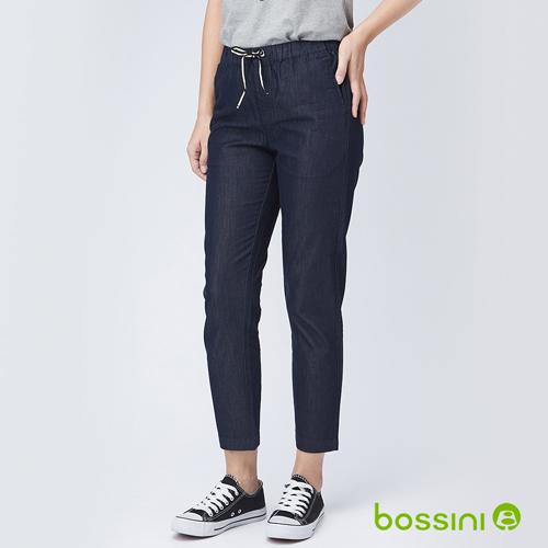 bossini女裝-輕鬆長褲04海軍藍