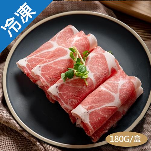 台灣特選豬梅花火鍋片 180G/盒