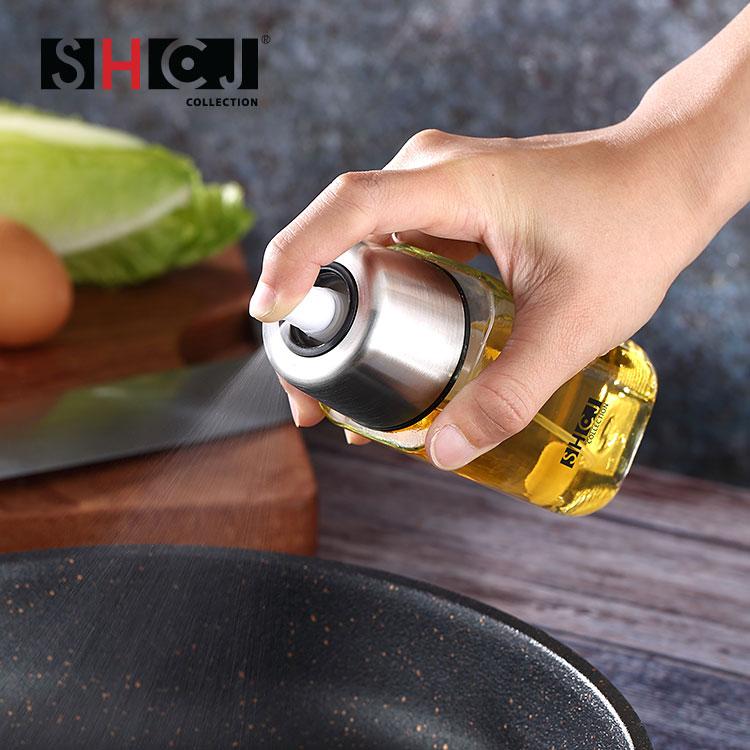 【SHCJ生活采家】氣壓式噴霧燒烤煎炒噴油瓶2入組#99443