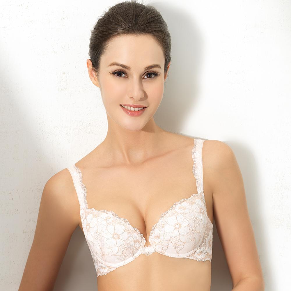 【Lofan 露蒂芬】安娜 時尚造波美型款內衣 C~F罩杯-膚(BA1861-IVE)