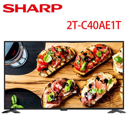 夏普 40吋 Full HD 多媒體連網液晶顯示器