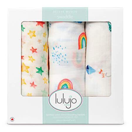 加拿大lulujo 竹纖維萬用巾三入組