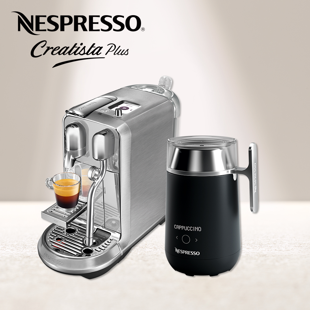 Nespresso 膠囊咖啡機 Creatista Plus Barista咖啡大師調理機 組合