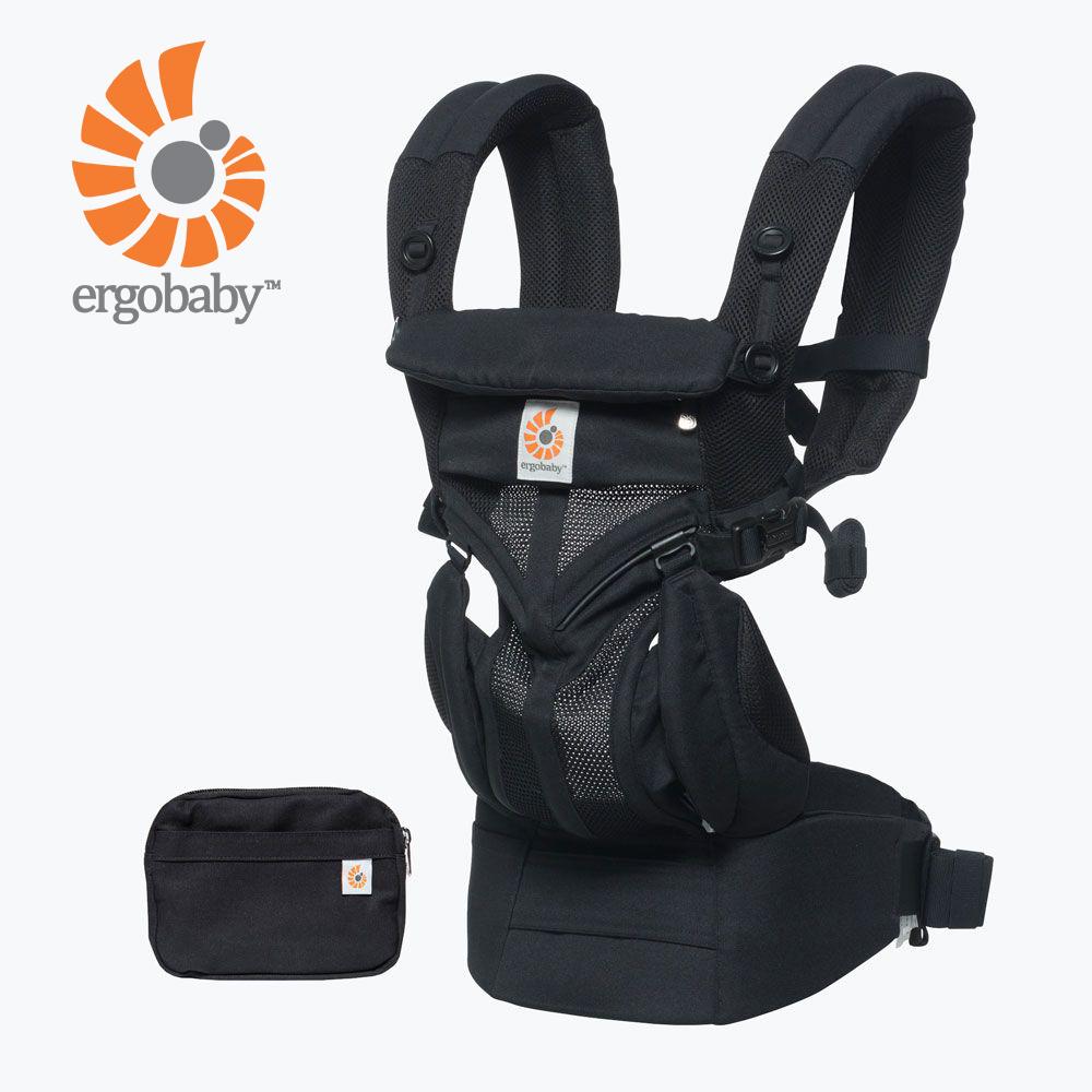 Ergobaby Omni全階段型四式360透氣款嬰兒揹巾/揹帶-黑瑪瑙
