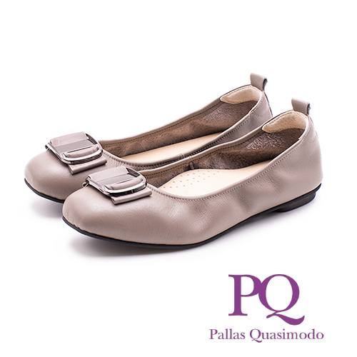 PQ典雅舒適娃娃鞋 女鞋 - 灰(另有藍)