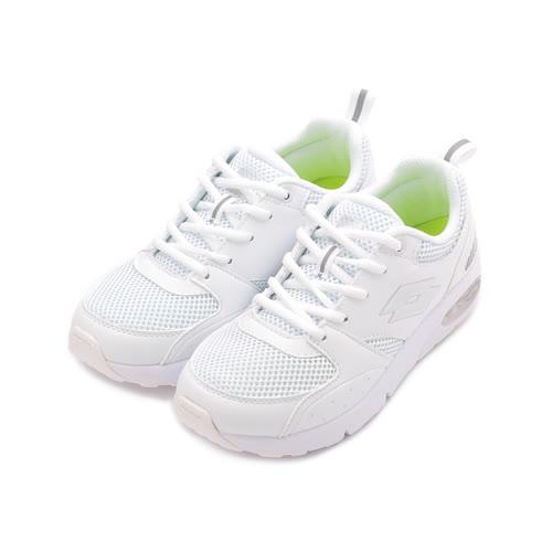 LOTTO DAY RIDE 避震跑鞋 全白 LT0099 女鞋 鞋全家福